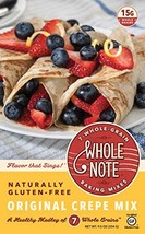 Whole Note Crepe Mix, 7-Whole-Grain and Naturally Gluten-Free Pack of 3 - $32.17