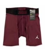 Jordan Men's Alpha 6'' Compression Shorts Dark Maroon NIKE Dri-Fit  8658... - $27.99