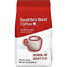 Seattle's Best Coffee® Born in Seattle House Blend Ground 12 Oz. [Pack o... - $48.99