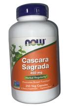 Now Foods Cascara Sagrada 450 mg Dietary Supplement - 250 Capsules - $15.99