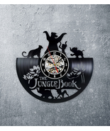 The jungle book gift jungle book clock vinyl clock unique gift cartoon clock - $45.00