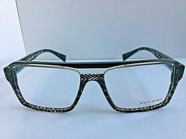 New ALAIN MIKLI A 43030 1241 54mm Clear Green Men's Eyeglasses Frame Italy - $189.99
