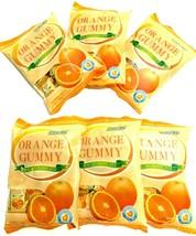 Cocon Orange Gummy With Fruit Juice 3.52 oz ( Pack of 6 ) - $24.74