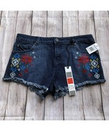 Freestyle Revolution Embroidered Jean Shorts - Size 11 Juniors - $12.60