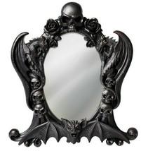 Alchemy Gothic Black Nosferatu Mirror Skulls Dragons Bat Roses Gift Deco... - $28.95