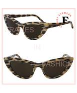 SAINT LAURENT NEW WAVE LILY 213 YSL SL213 Brown Leopard Print Sunglasses... - $237.60