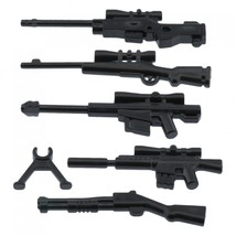 Custom army military guns weapons pack for lego minifigures minifig accessories set b 2 thumb200