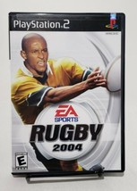 Rugby 2004 PS2 Sony Playstation 2 CIB  EA SPORTS - $7.42