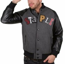 Staple New York MVP Most Valuable Pigeon Good Luck Wool Varsitity Jacket NWT image 2
