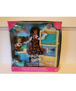 1995 Mattel Rare Brunette Teacher Barbie Doll Set No.16210 VTG - $59.35