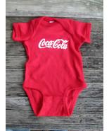 Coca-Cola Red Infant Newborn Bodysuit One piece 100% Cotton - BRAND NEW - $11.63