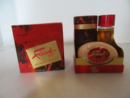 NOS Faberge Flambeau Trip-Let  Bar Soap-Bath Powder (2 Oz)-Cologne (1 Oz... - $39.95