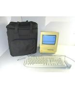Vintage Apple Macintosh SE Computer Model M5011 w/ Keyboard Mouse Case - $247.49