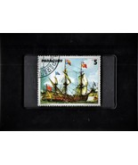 Tchotchke Framed Stamp Art - Explorations of The New World - Jan Van Beeck - $9.99