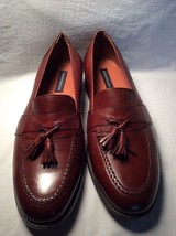 Bostonian Dress Brown Leather Loafers With Tassel  - $49.49