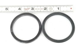 LOT OF 2 NEW GENERIC F267041 U CUP SEAL RINGS U237-01 , 2 IN. ID. 2-1/4 IN. OD. image 1