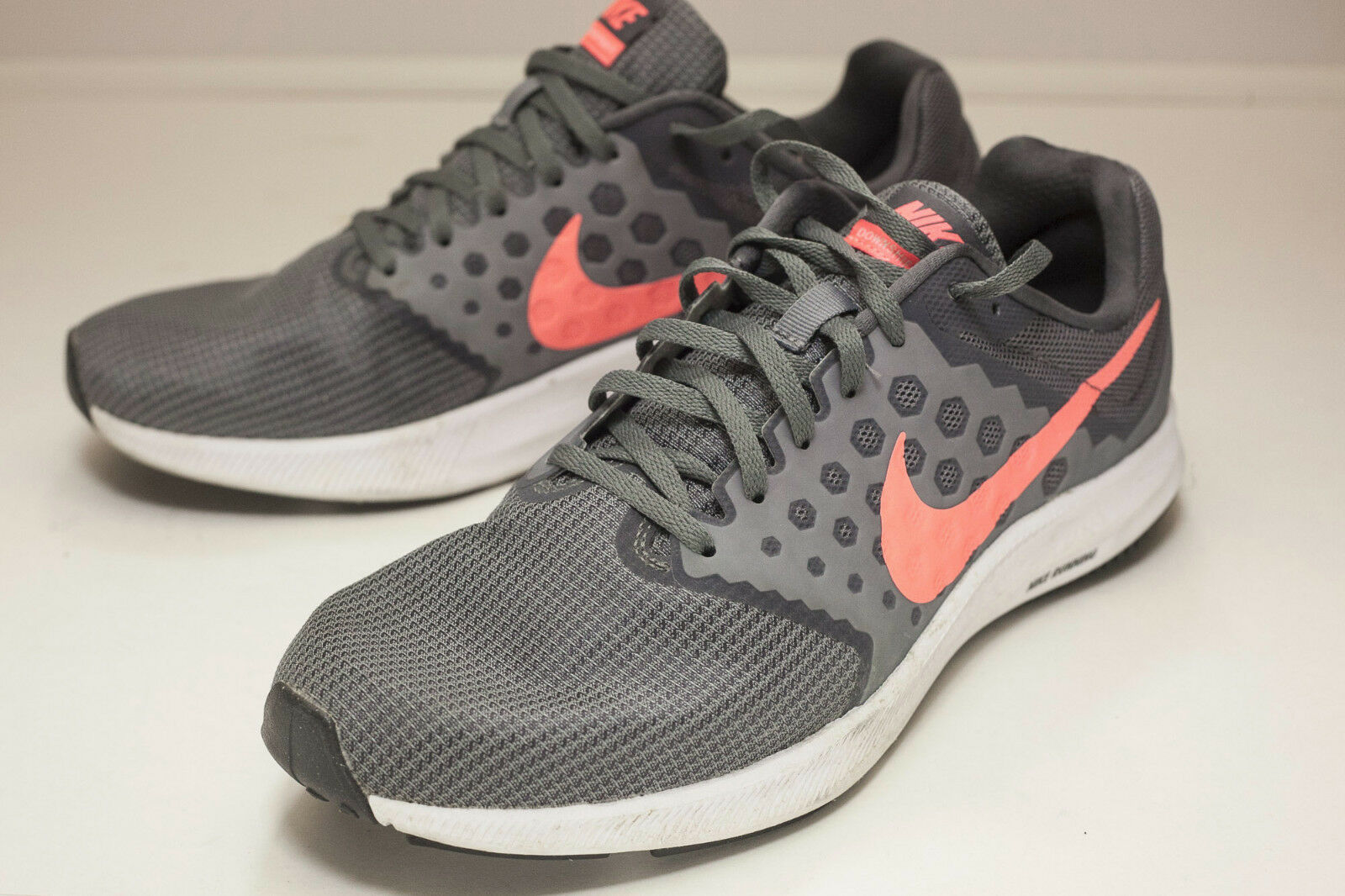 c41c5a1c75e7 Nike Downshifter 7 US 11 Grey Pink Running and 50 similar items
