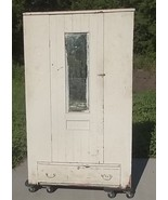 Farmhouse Armoire Wardrobe Cabinet Cupboard;Painted;Pine;DIY Projects - $750.00