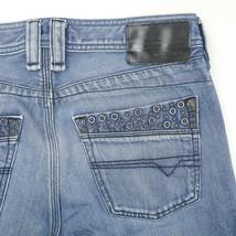 Diesel Timmen Medium Wash Straight Leg Regular Fit Button Fly Jeans Mens... - $49.40