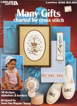 CROSS STITCH MANY GIFTS CHARTED FOR CROSS STITCH FREEBIE PLEASE SEE DETAILS - $0.00