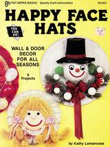 Happy Face Hats Wall & Door Decor For All Seasons - $0.00