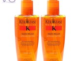 Kerastase Nutritive Serum Oleo-Relax 125 ml, Anti-Frizz Smoothing Elixir (Pack O