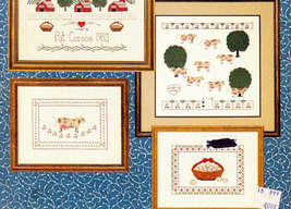 CROSS STITCH GLORIA & PAT MY COUNTRY SAMPLER - $0.00