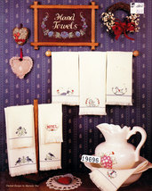 CROSS STITCH CHARTS FOR HAND TOWELS - $0.00