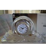 Crystal Quartz Concepts Mantel Shelf Clock 24% Lead, France - $15.99
