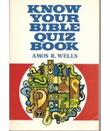 BOOK- Know Your Bible Better Quiz Book [Paperback] Frederick Hall  - $4.99