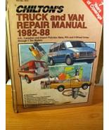 Chilton's Truck and Van Repair Manual 1982-88 U.S., Canadian and Import - $13.49