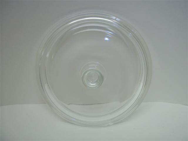 Princess House Nouveau Glass Replacement Lid for 1 Quart Casserole Dish