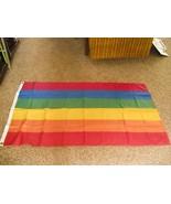 3 x 5 rainbow flag gay pride - $2.97