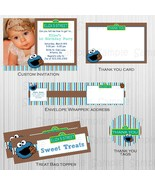 Printable cookie monster Party Package:Custom, Birthday, Baby Shower, in... - $20.00