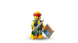 Lego #71013 Series 16 Minifigure Scallywag Pirate - $5.17