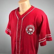 Cincinnati Reds M Jersey Mens MLB Embroidered Logo Baseball Size Medium ... - $32.58