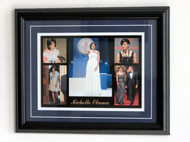 Michelle Obama 1st Lady of 44th President Danbury Mint Collectible Frame... - $29.65