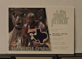 2002 Topps Shaq Attack #SA 2 Shaquille O'Neal - $26.15