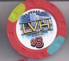 $5 LVH (Former Las Vegas Hilton) Hotel 2012  LasVegas Casino Chip, New - $9.95