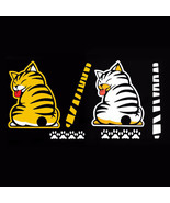 Sticker Window Reflective Sheeting 3D Car Decal Rear Wiper Cat Moving Ta... - $5.86