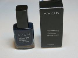 Avon NailWear Pro Nail Enamel Textured Teal N803 0.4 fl oz polish mani pedi - $10.67