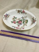 """Wedgwood Charnwood Multicolored Floral 9 3/4"""" Oval Serving Bowl  - WD3984 - $57.09"""
