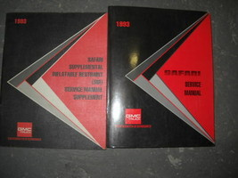 1993 GMC Safari Service Repair Shop Manual SET FACTORY - $7.97