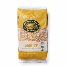 Nature's Path Whole O's Cereal, Healthy, Organic, Gluten-Free, Low-Sugar, 26.4 O