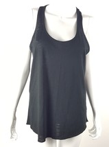 26854c41bb1f7 Mossimo Womens Size Medium Black See Through Sleeveless Tank Top Blouse NWT  -  13.09