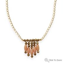 Coral Design Necklace - $69.99
