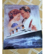 TITANIC LITHOGRAPH 8BY10 OF JACK AND ROSE(CAN BE AUTOGRAPH ALSO)READ DES... - $10.00