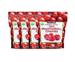 Kirkland Signature Organic Dried Cherries, 20 oz. (Pack of 4) - $63.58