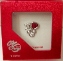 Disney i love mickey swarovski crystal brooch pin in box thumb200