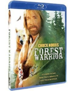 Chuck Norris Forest Warrior Blu-ray Fighting Action Packed. - $5.93